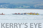 Race action at the Fenit Regatta on Sunday.
