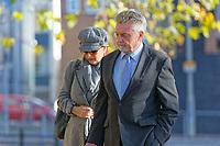 2018 11 02 Three men sentenced for NHS fraud, Merthyr Crown Court, Wales, UK
