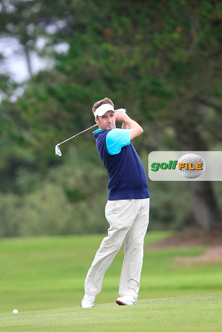 David Kiely (Tramore) on the 11th fairway during Matchplay Day 1 of the AIG Irish Amateur Close Championship at Tramore Golf Club on Thursday 20th August 2015.<br /> Picture:  Thos Caffrey / www.golffile.ie