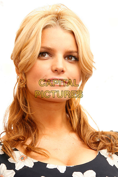 JESSICA SIMPSON.Jessica Simpson and Blockbuster Launch Blockbuster Total Access held at the Kodak Theatre, Hollywood, California, USA..November 2nd, 2006.Ref: ADM/RE.headshot portrait .www.capitalpictures.com.sales@capitalpictures.com.©Russ Elliot/AdMedia/Capital Pictures.