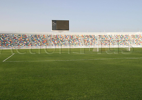 05.03.2004 Grand Hamad Stadium in Doha, Qatar. It is the Al-Arabi Sports Club stadium in the capital.