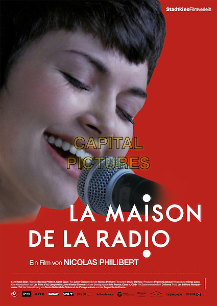 GERMAN POSTER ART<br /> in La Maison de la radio (2013) <br /> *Filmstill - Editorial Use Only*<br /> CAP/FB<br /> Image supplied by Capital Pictures