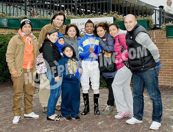 Ricardo Santana Jr. Delaware Park's 2012 Leading Rider ...