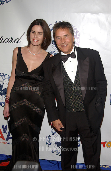 Actor DON JOHNSON & wife at the 15th Carousel of Hope Ball at the Beverly Hilton Hotel, Beverly Hills..15OCT2002.  © Paul Smith / Featureflash