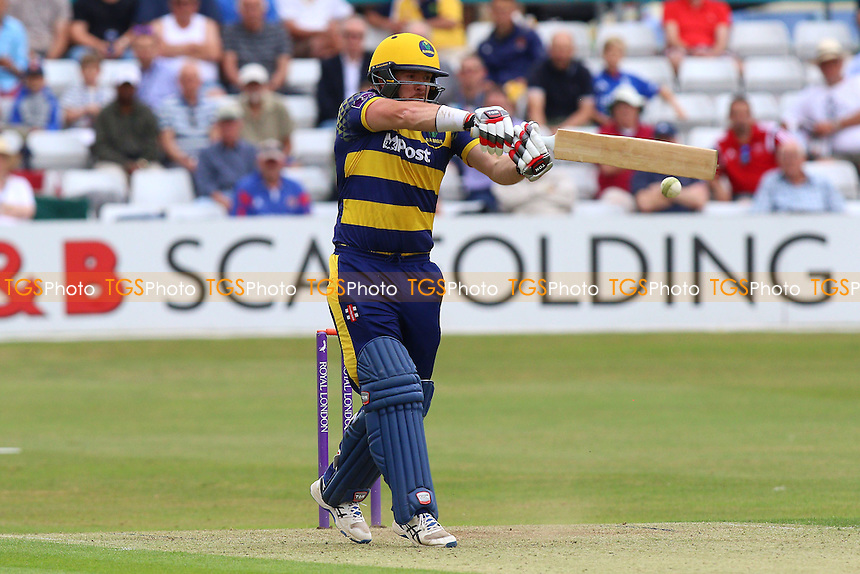 Will Bragg in batting action for Glamorgan during Essex Eagles vs Glamorgan, Royal London One-Day Cup Cricket at the Essex County Ground on 26th July 2016