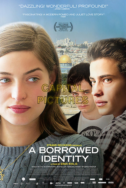 A BORROWED IDENTITY (2014)<br /> (Dancing Arabs)<br /> POSTER<br /> *Filmstill - Editorial Use Only*<br /> CAP/FB<br /> Image supplied by Capital Pictures