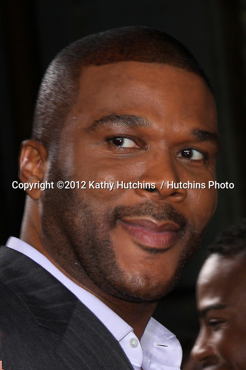 """Los Angeles - AUG 16:  Tyler Perry arrives at the """"Sparkle""""  Premiere at Graumans Chinese Theater on August 16, 2012 in Los Angeles, CA"""