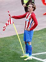Atletico de Madrid's Antoine Griezmann celebrates goal during La Liga match. March 19,2017. (ALTERPHOTOS/Acero) /NORTEPHOTO.COM