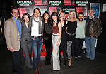 Brian Long, Sarah Cameron Sunde, McCaleb Burnett, Karen Allen, Samantha Soule, Maren Bush, Pamela Shaw, Carlo Alban and David Van Asselt attending the Opening Night Performance of The Rattlestick Playwrights Theater Production of 'A Summer Day' at the Cherry Lane Theatre on 10/25/2012 in New York.