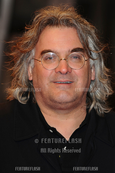 Paul Greengrass arriving for the 'Invictus' premiere at the Odeon West End, Leicester Square, London.  31/01/2010  Steve Vas / Featureflash