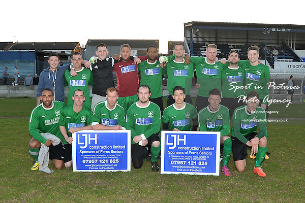 Ferns Seniors V Thames View. Skip Attwood Trophy Final. Romford and DistrictFootball League. Aveley FC. Essex. 23/04/2015. MANDATORY Credit Garry Bowden/Sportinpictures - NO UNAUTHORISED USE - 07837 394578