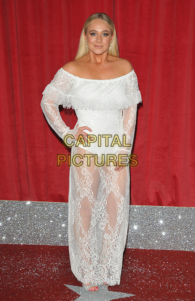 Kirsty-Leigh Porter at the British Soap Awards 2017, The Lowry Theatre, Pier 8, Salford Quays, Salford, Manchester, England, UK, on Saturday 03 June 2017.<br /> CAP/CAN<br /> &copy;CAN/Capital Pictures