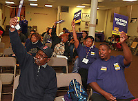 Reinhard:SEIU 32BJ Vote Day