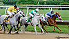 RB Code winning at Delaware Park racetrack on 6/5/14
