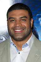 "LOS ANGELES, CA, USA - APRIL 16: Shawne Merriman at the Los Angeles Premiere Of Open Road Films' ""A Haunted House 2"" held at Regal Cinemas L.A. Live on April 16, 2014 in Los Angeles, California, United States. (Photo by Xavier Collin/Celebrity Monitor)"