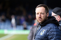 bBristol Rovers manager Ben Garner before Southend United vs Bristol Rovers, Sky Bet EFL League 1 Football at Roots Hall on 7th March 2020