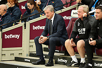 Crystal Palace manager Roy Hodgson during West Ham United vs Crystal Palace, Premier League Football at The London Stadium on 5th October 2019