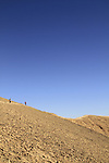 Israel, Eilat mountains, hiking on Mount Yehoram
