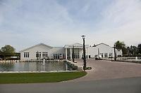 B&uuml;ttelborn 30.04.2016: 7. Charity Golf Turnier f&uuml;r die Dt. Krebshilfe, Golfpark Bachgrund<br /> Geb&auml;ude des Golfpark Bachgrund<br /> Foto: Vollformat/Marc Sch&uuml;ler, Sch&auml;fergasse 5, 65428 R'eim, Fon 0151/11654988, Bankverbindung KSKGG BLZ. 50852553 , KTO. 16003352. Alle Honorare zzgl. 7% MwSt.