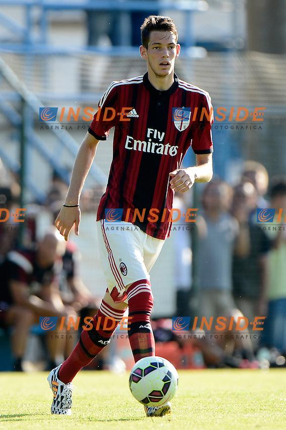 Andrej Modic Milan<br /> Solbiate Arno 16-07-2014 Stadio Felice Chinetti - Football Calcio Amichevole. Pre season training. Milan - Renate Foto Giuseppe Celeste / Insidefoto