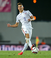PRAGUE, Czech Republic - September 3, 2014: USA's Alfredo Morales during the international friendly match between the Czech Republic and the USA at Generali Arena.