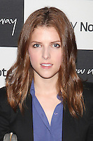 Anna Kendrick attends the Samsung Galaxy Note 10.1 Launch Event in New York City, August 15, 2012. ©?Diego Corredor/MediaPunch Inc. /NortePhoto.com<br />