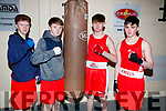 Mike McCarthy, Jonathan McCarthy, Darren Griffin and Ross Long, members of Tralee Boxing Club Tournament who took part in the annual tournament on Sunday last