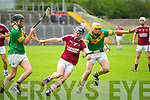 In Action Causeway's Brian Murphy and Kilmoyley's Tom Murnane Senior Hurling Championship round 1 Causeway V Kilmoyley at Austin Stack Park on Saturday