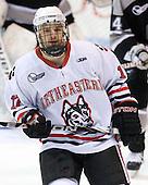 Steve Silva (Northeastern - 17) - The Northeastern University Huskies defeated the visiting Providence College Friars 5-0 on Saturday, November 20, 2010, at Matthews Arena in Boston, Massachusetts.
