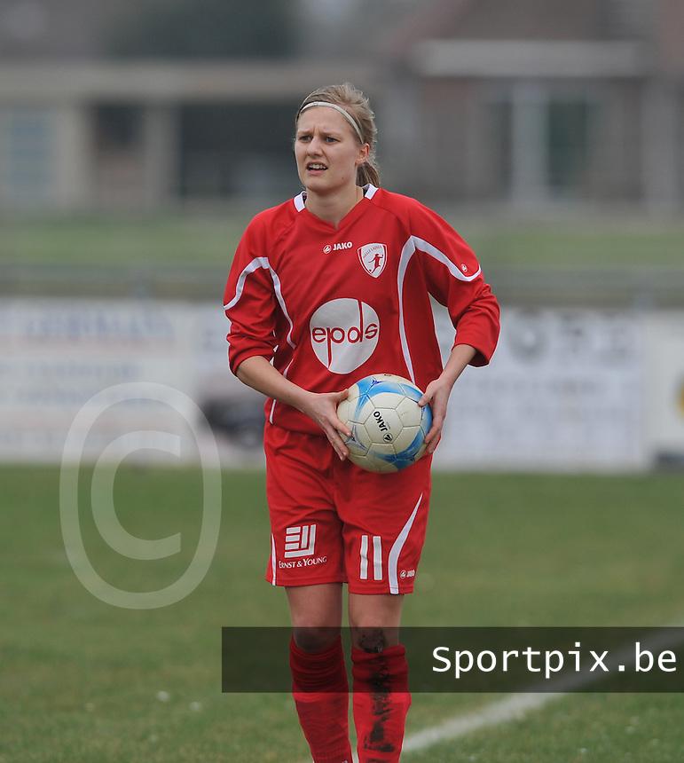 Melle Ladies : Franke Vandekerckhove.foto David Catry / Vrouwenteam.be / Loft6.be