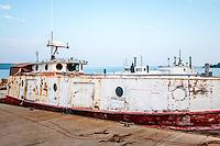 Fishing Boats on Lake Superior at Bayfield Wisconsin