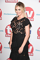 Chloe Sims<br /> arriving for the TV Choice Awards 2017 at The Dorchester Hotel, London. <br /> <br /> <br /> ©Ash Knotek  D3303  04/09/2017
