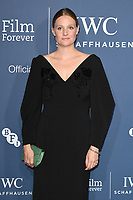 Ramola Garai<br /> arriving for the 2018 IWC Schaffhausen Gala Dinner in Honour of the BFI at the Electric Light Station, London<br /> <br /> ©Ash Knotek  D3437  09/10/2018