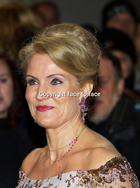 01-01-2014 Amalienborg Helle Thorning-Schmidt at the New Years reception at Amalienborg in Copenhagen.<br />