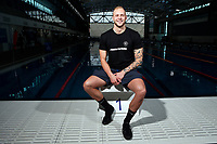 Corey Main, New Zealand swimming team announcement for the 2018 Commonwealth Games. Sir Owen G. Glenn National Aquatic Centre, Auckland. 22 December 2017. Copyright Image: William Booth / www.photosport.nz