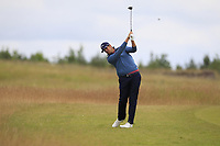 Nacho Elvira (ESP) on the 1st during Round 2 of the Aberdeen Standard Investments Scottish Open 2019 at The Renaissance Club, North Berwick, Scotland on Friday 12th July 2019.<br /> Picture:  Thos Caffrey / Golffile<br /> <br /> All photos usage must carry mandatory copyright credit (© Golffile | Thos Caffrey)