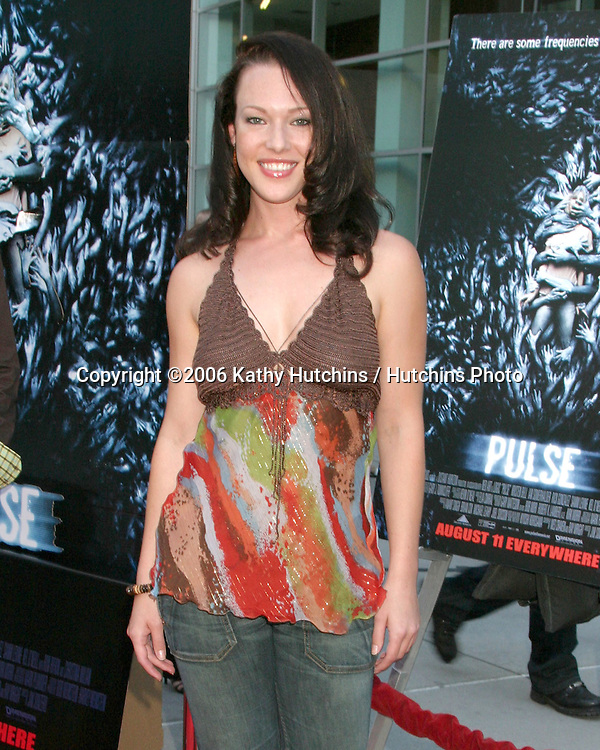 "Erin Cummings.""Pulse"" LA Premiere.ArcLight Theaters.Hollywood, CA.August 10, 2006.©2006 Kathy Hutchins / Hutchins Photo...."
