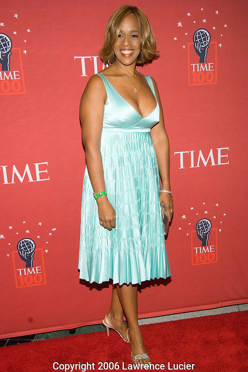 Editor-at-large of O Magzine Gayle King arrives May 8, 2007 for the TIME 100 Gala at Jazz at Lincoln Center in New York City to celebrate the 100 most influential people in the world.  (Pictured : GAYLE KING)