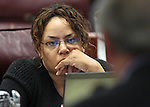 Nevada Assemblywoman Dina Neal, D-North Las Vegas, listens in committee on Thursday, April 28, 2011, at the Legislature in Carson City, Nev. .Photo by Cathleen Allison