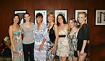 7 Actresses star in ummer Stock NYC on Opening Night - As The World Turns' Colleen Zenk along with her daughter Kelsey Crouch Pinter (second left) and 5 actresses - Karen Mason (center), Kelly Felthous (R), Carrie Manolakos (second left), Pearl Sun (L) and Dana Steingold (second right) star as CAP 21 presents SUMMER STOCK NYC, a celebration of the Broadway Musical on July 17, 2010 at the Michael Schimmel Center for the Arts, Pace University, NYC. (Photo by Sue Coflin/Max Photos)