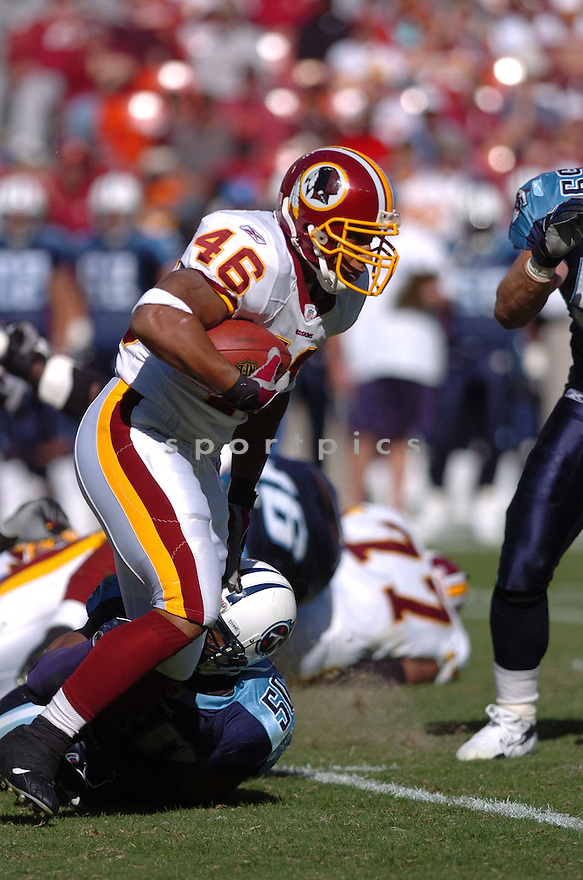 LADELL BETTS of the Washington Redskins in action against the Tennessee Titans on October 15, 2006 at FedEx Field...Titans win 25-22..Tomasso DeRosa / SportPics