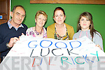 John Morrison, Anne Morrison, Majella Kearney and Nicole Kearney Ballyheigue who were supporting Lil Ricky at the Kerry's Got Talent finals in the INEC on Sunday ..