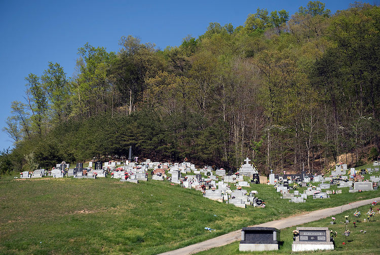 A cemetery outside of Pikeville, Ky., April 17, 2010.