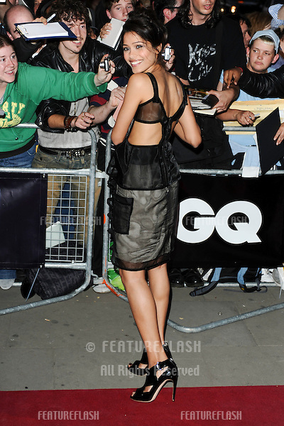 Freida Pinto arriving at the GQ Men Of The Year Awards, at The Royal Opera House, London. 08/09/09. Picture by: Steve Vas / Featureflash