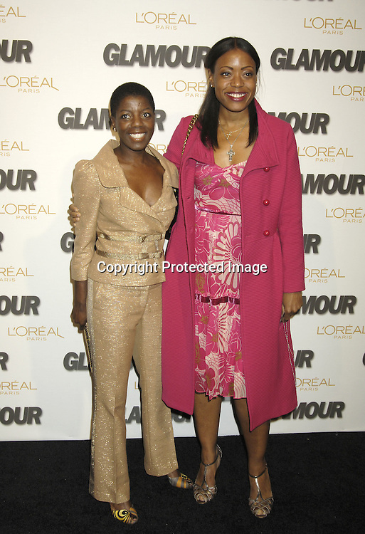 Thelma Golden and Tracy Reese..at The Glamour Magazine  2005 Women of the Year Awards on November 2, 2005 at Lincoln Center's Avery Fisher Hall...Photo by Robin Platzer, Twin Images