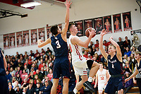 Gunnar Nortman (#10) - Mount Horeb takes on Reedsburg in Wisconsin Badger Conference boys high school basketball on Friday, 12/7/18 at Mount Horeb High School