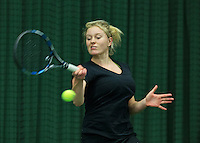 Rotterdam, The Netherlands, March 18, 2016,  TV Victoria, NOJK 14/18 years, Lexie Stevens (NED)<br /> Photo: Tennisimages/Henk Koster
