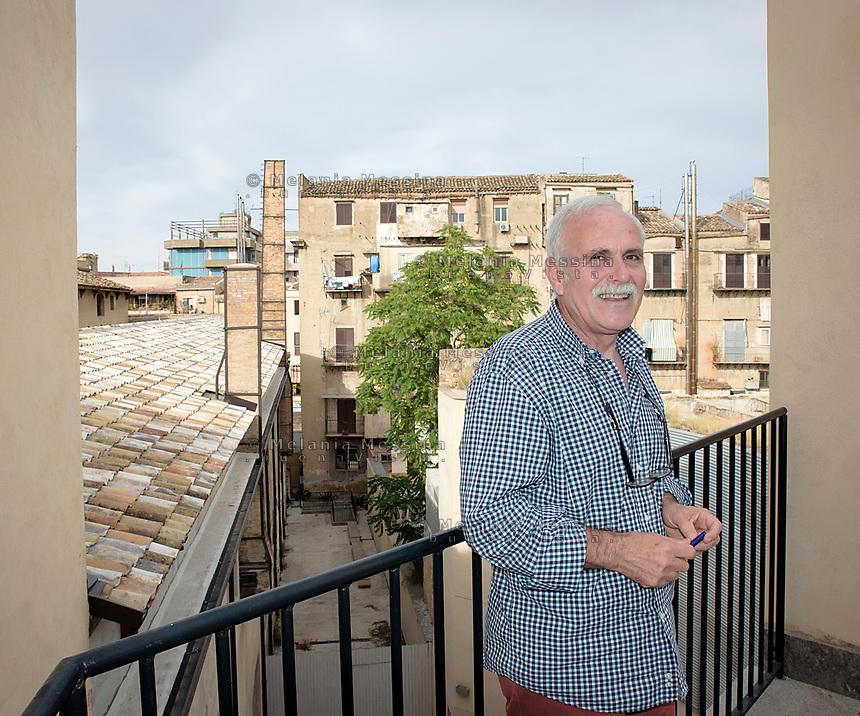 Il garante dell'infanzia per il comune di Palermo Pasquale D'Andrea.<br /> Pasquale D'andrea guardian of unaccompanied migrant children of  City of Palermo.
