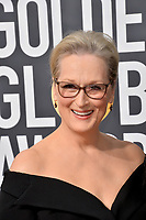 Meryl Streep at the 75th Annual Golden Globe Awards at the Beverly Hilton Hotel, Beverly Hills, USA 07 Jan. 2018<br /> Picture: Paul Smith/Featureflash/SilverHub 0208 004 5359 sales@silverhubmedia.com
