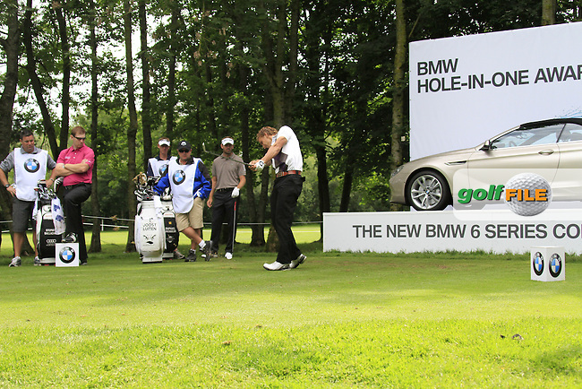 Joost Luiten (NED) tees off on the par3 17th tee during Day 1 of the BMW International Open at Golf Club Munchen Eichenried, Germany, 23rd June 2011 (Photo Eoin Clarke/www.golffile.ie)